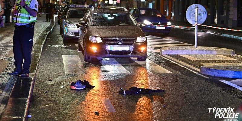 Nehoda se udála v pražské čtvrti Žižkov.