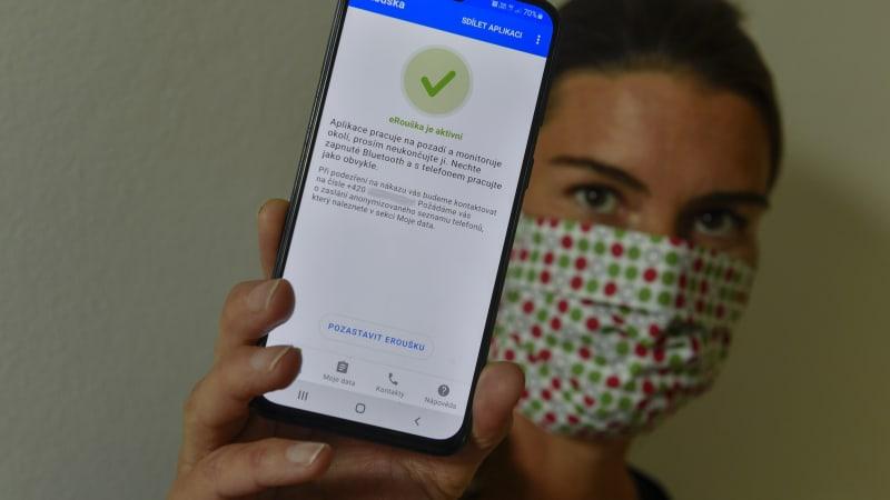 Aplikace eRouška bude od konce října fungovat i přeshraničně v Evropské unii
