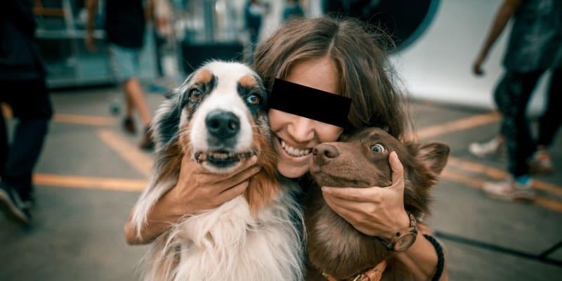 Kristýna byla velkou milovnicí psů.