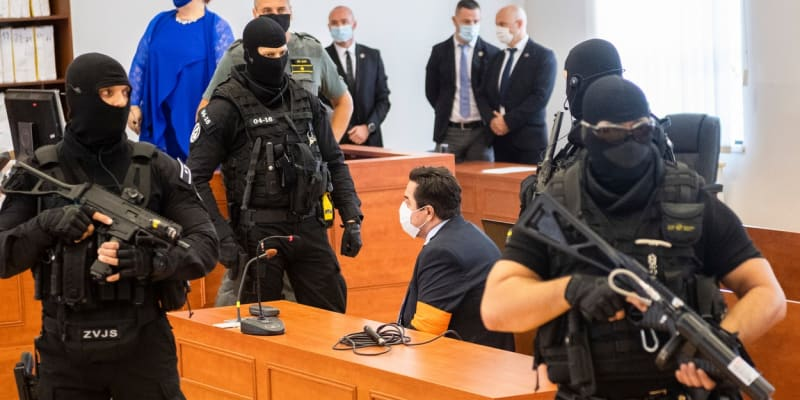 Marian Kočner u soudu.