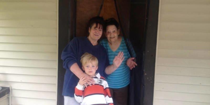 Wyatte se svou rodinou