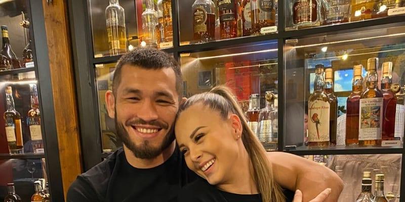 Populární zpěvačka Monika Bagárová a její partner Makhmud Muradov.