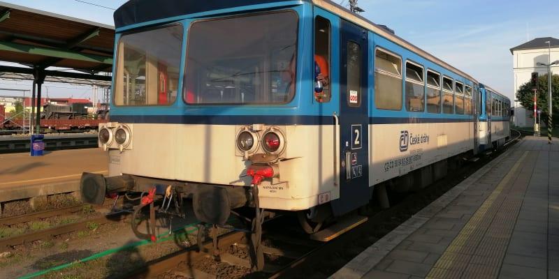 Opava, souprava 810 po modernizaci