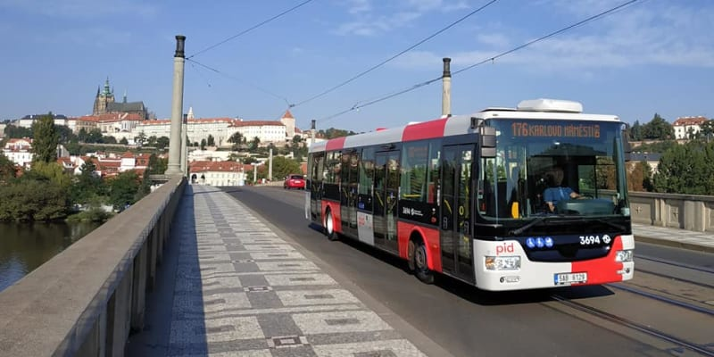 Nová podoba autobusů městské hromadné dopravy v Praze Foto: Pražská integrovaná doprava (PID)