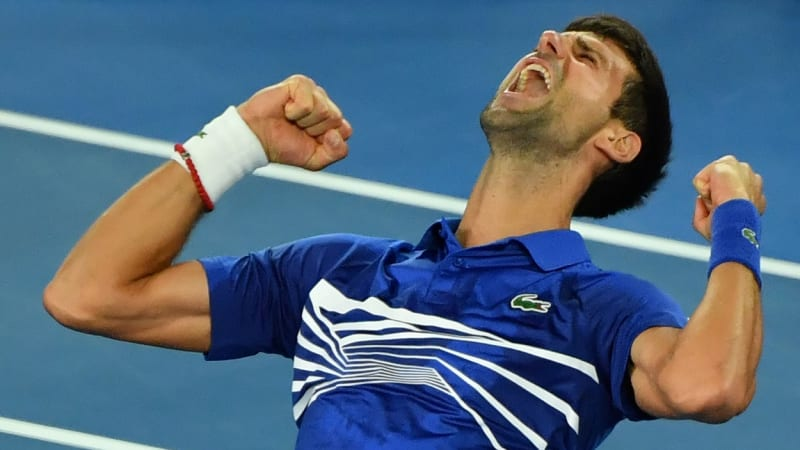 Sólo pro suveréna. Djokovič podeváté v kariéře vyhrál Australian Open