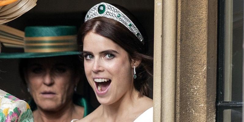 Princezna Eugenie se vdala v polovině října 2018.