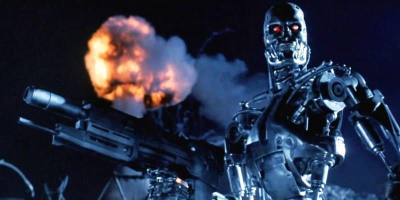 Terminátor. Zřejmě nejslavnější filmový robot.