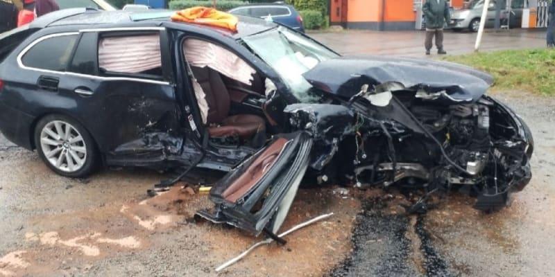 K vážné dopravní nehodě došlo v sobotu na Chrudimsku.