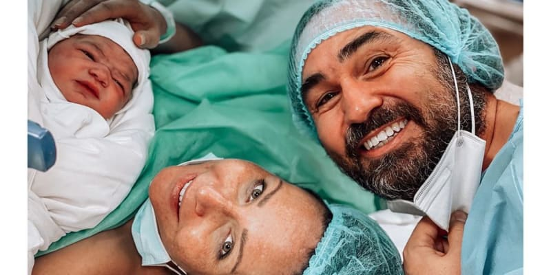 Herečka Veronika Arichteva porodila. Zveřejnila roztomilé fotky novorozeněte.