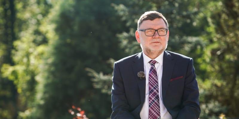 Zbyněk Stanjura (ODS) v nedělní Partii na CNN Prima NEWS natáčené v Lánech
