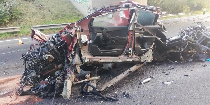 Při nehodě u Mirotic zemřel třiapadesátiletý muž.