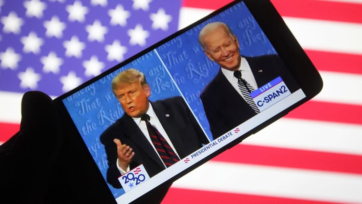 ŽIVĚ Finální střet Trumpa a Bidena: Sledujte dabovanou debatu i on-line reportáž