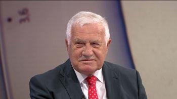 Sledujte ŽIVĚ: Udílení vyznamenání letos nebude. Jak hodnotí rozhodnutí Václav Klaus?