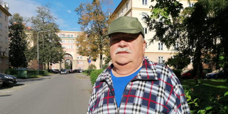 Penzista Josef Rumblík býval havířem, v Porubě žije od padesátých let.