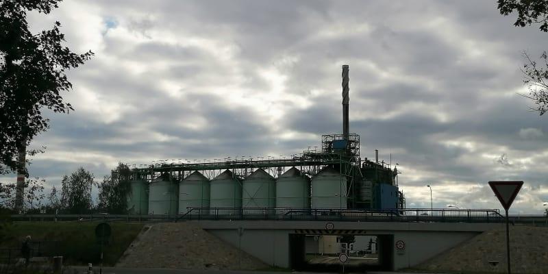 Chemická továrna Deza ve Valašském Meziříčí