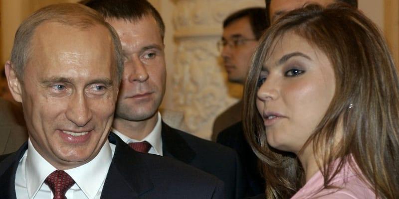 Ruský prezident Vladimir Putin a Alina Kabajevová