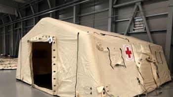 Postele pro polní nemocnici už jsou na cestě, pronájem Letňan má stát desítky milionů