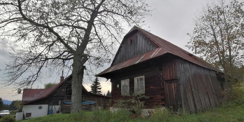 Vjadačka, česko-slovenská hraniční vesnice v Beskydech