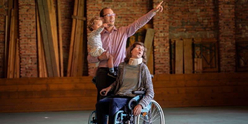 Anežka trpí roztroušenou sklerózou