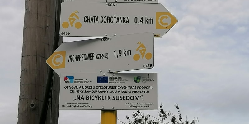 Vjadačka, česko-slovenská hraniční vesnice v Beskydech. Rozcestník pro turisty