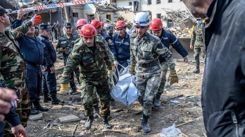 Putin: Boje o Náhorní Karabach si vyžádaly na 5000 obětí. Za měsíc je to hodně, připustil
