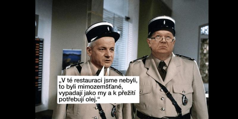 Parodie na film Četník ze Saint Tropez