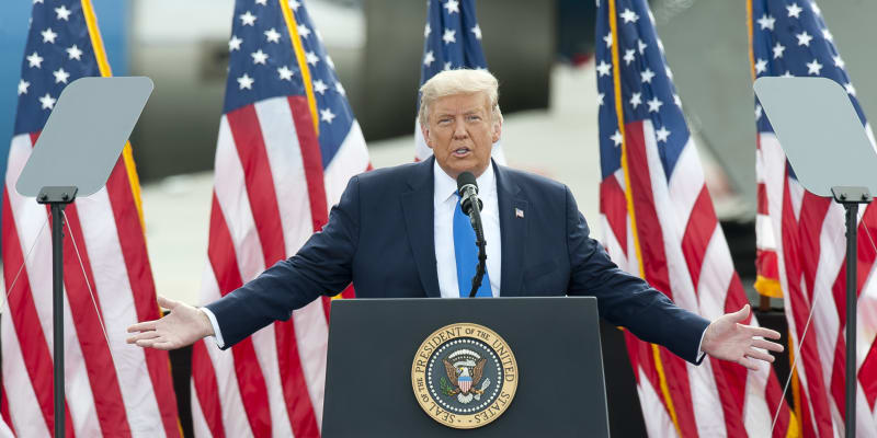 Donald Trump nepochybuje, že se stane prezidentem USA i napodruhé.