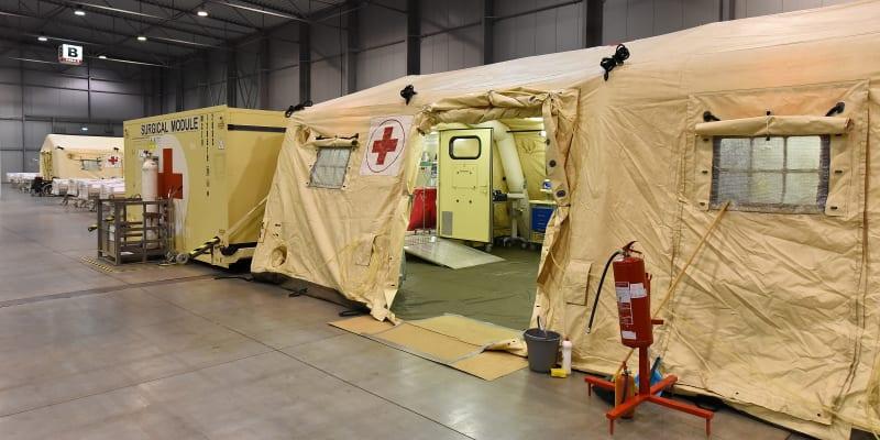Stát zatím nemá pro aktivaci polní nemocnice personální kapacity.