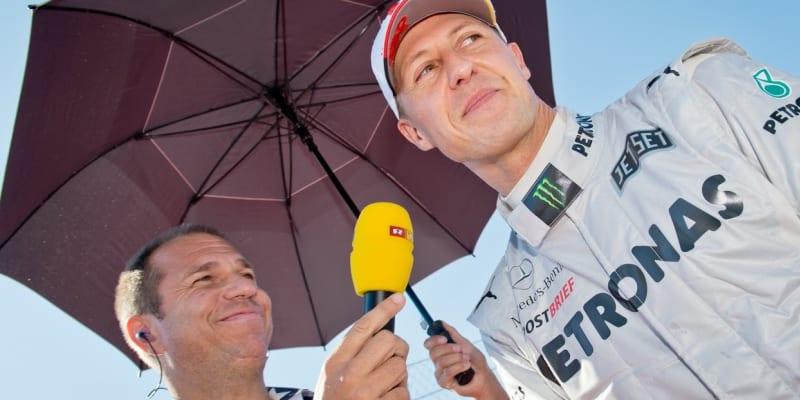 Předposlední rozhovor Kaie Ebele s Michaelem Schumacherem během závodů formule 1. Uskutečnil se 18. listopadu 2012. O týden později Schumacher ukončil kariéru.