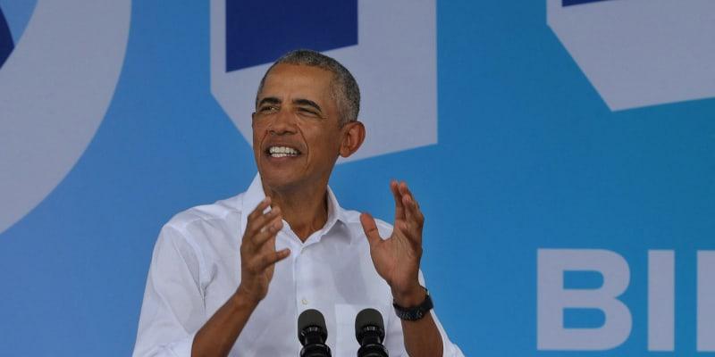 Joea Bidena podporuje i bývalý americký prezident Barack Obama.