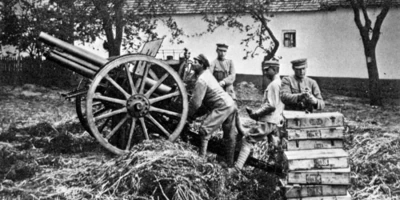 Maďarská vojska na Slovensku v roce 1919
