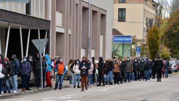 Jen necelé jedno procento z téměř milionu Slováků označily zatím testy za covid pozitivní