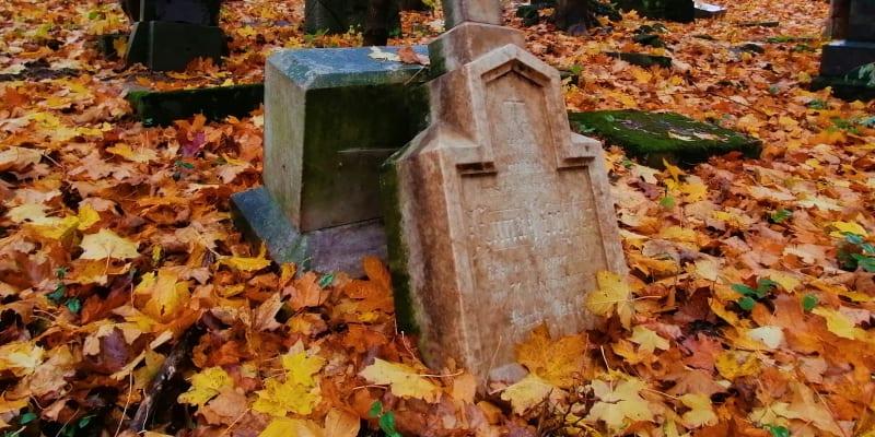 Zdevastovaný hřbitov v Chomýži u Krnova, Dušičky 2020.  Příští rok má bý pohřebiště zcela zlikvidováno, radnice v Krnově pietu nectí