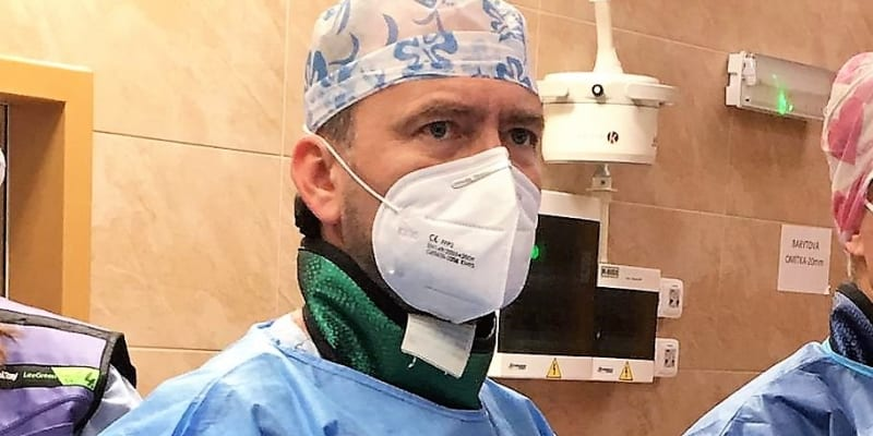 Kardiochirurg Radovan Jursa z Fakultní nemocnice v Ostravě