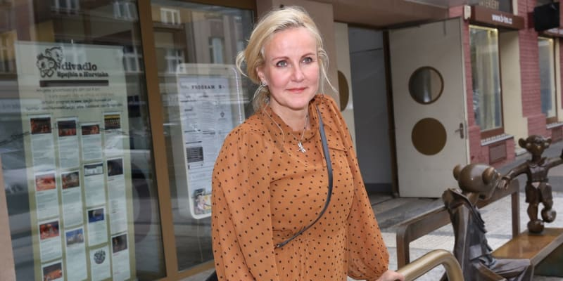 Vendula Pizingerová porodila ve 48 letech