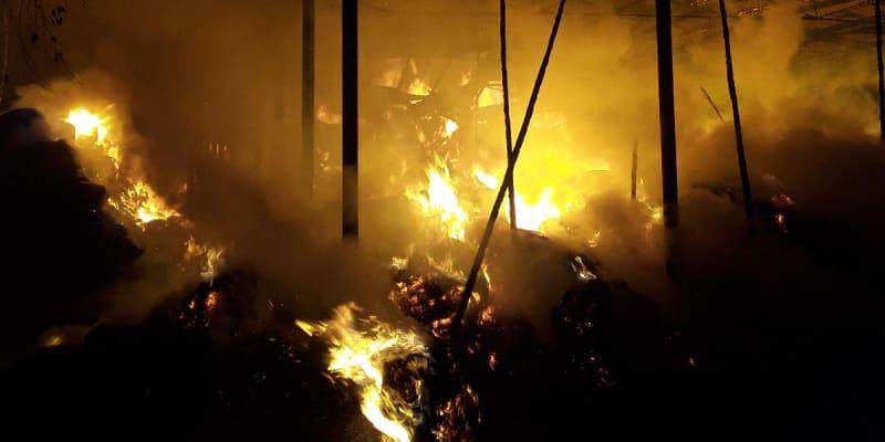 Požár za sebou zanechal škodu 1,5 milionu korun.