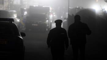 Noční razie: Policisté zadrželi pět lidí, které podezírají z terorismu na Ukrajině