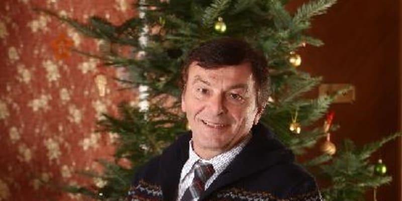 Představitel prince ze slavné pohádky Tři oříšky pro Popelku se na Vánoce vždycky těší.