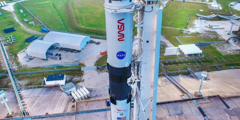 Muskův Space X pošle NASA k Mezinárodní vesmírné stanici ISS až v neděli.