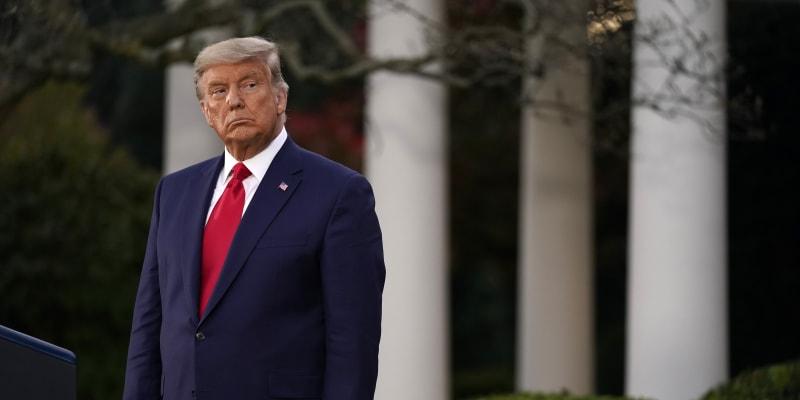 Donald Trump prezentoval své výsledky voleb