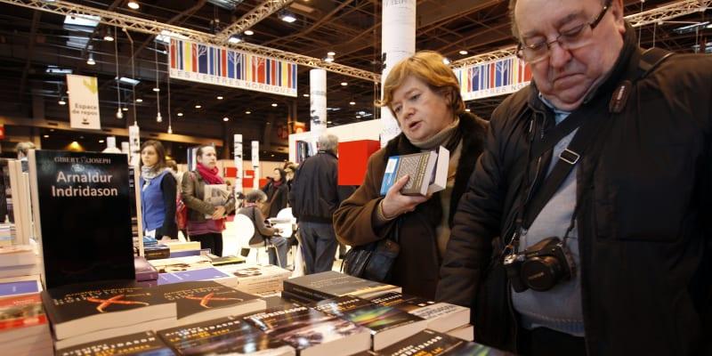Francouzi milují knihy.