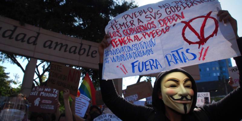 Demonstrace v Peru proti nové vládě má nejméně dvě oběti