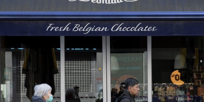 Obchody s čokoládou jsou v zemi otevřené.