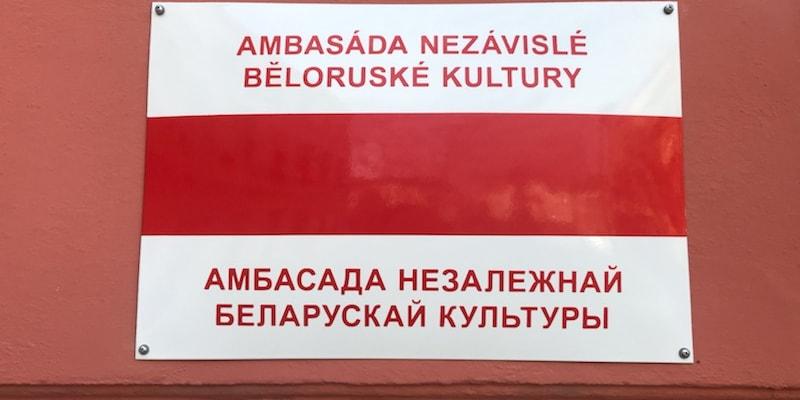 V Brně byla otevřena Ambasáda nezávislé běloruské kultury.