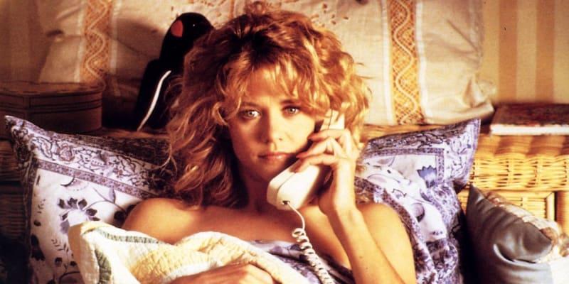 Meg Ryan ve filmu Když Harry potkal Sally z roku 1989.