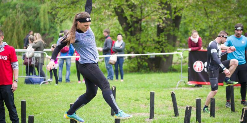Michaela Tichá na závodě Spartan Race