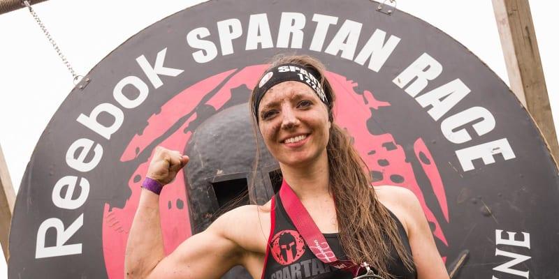 Michaela Tichá se zúčastňovala překážkového běhu Spartan Race.
