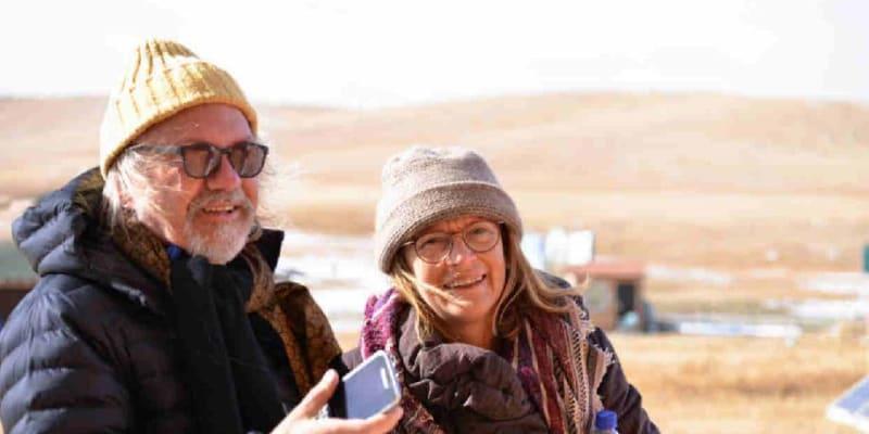 S manželkou Vladimírou.