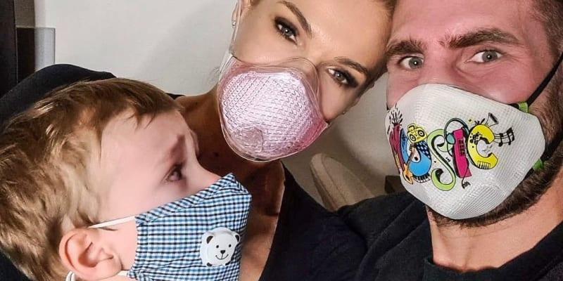 Mašlíková má s MMA bojovníkem syna.
