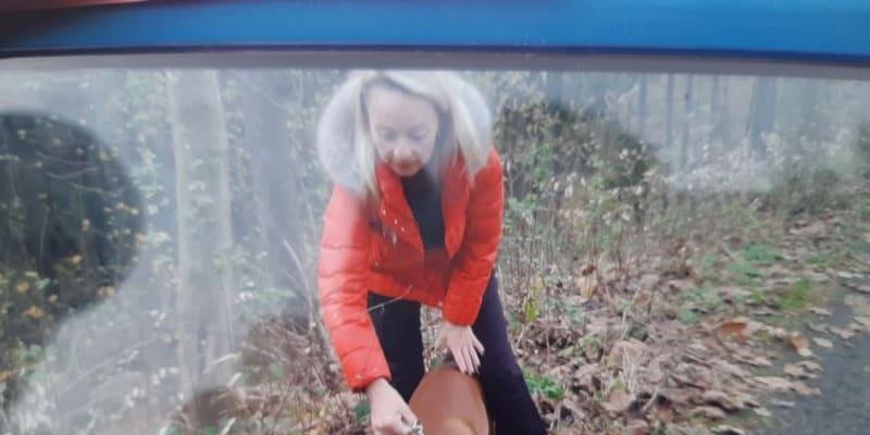 Turisté napadli slovně seniora a psa mu hodili pod kola